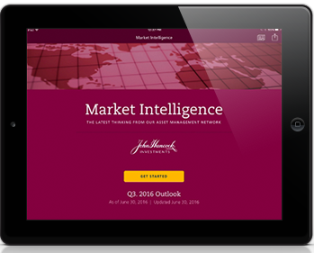 Market intelligence app